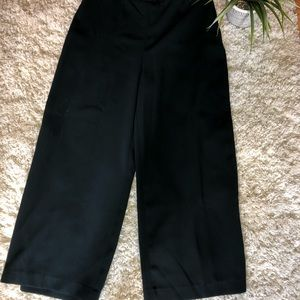 Zara Dark Green Culottes (Trousers)